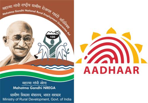AADHAAR MADE MANDATORY FOR MGNREGA`