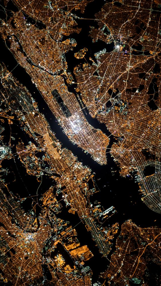 The City That Never Sleeps by NASA