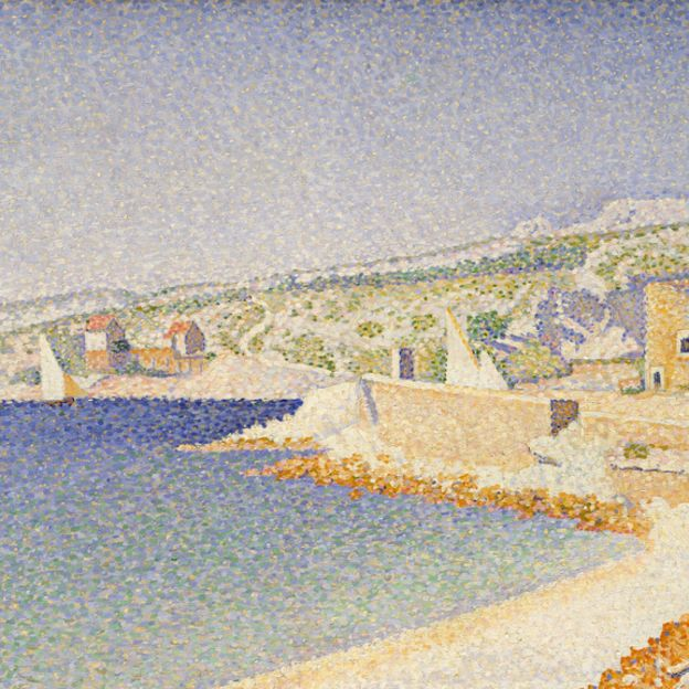 The Jetty at Cassis, Opus 198 by undefined