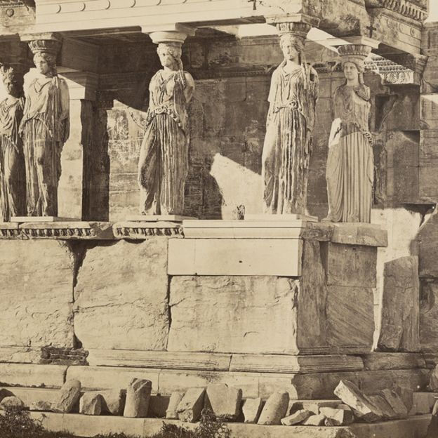 The Caryatid Porch of the Erechtheion, Athens by undefined