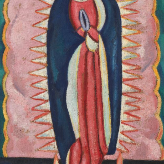 The Virgin of Guadalupe by undefined