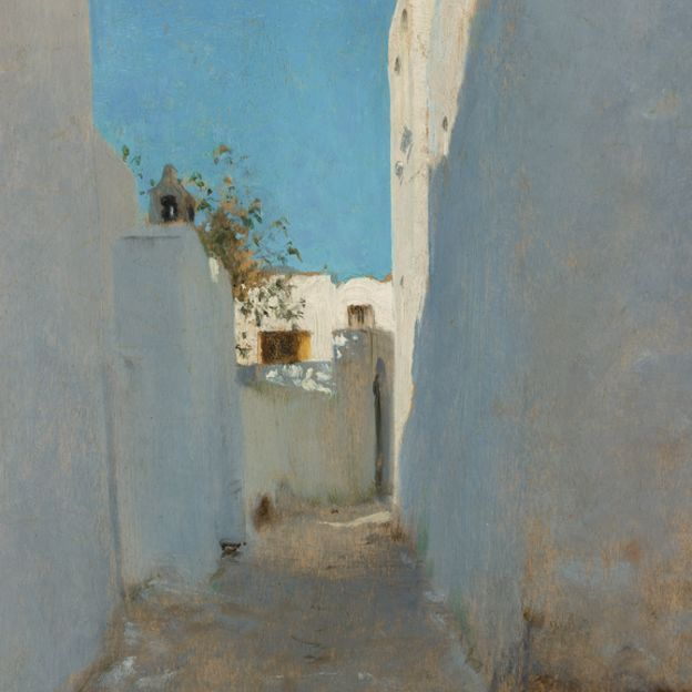 A Moroccan Street Scene by undefined