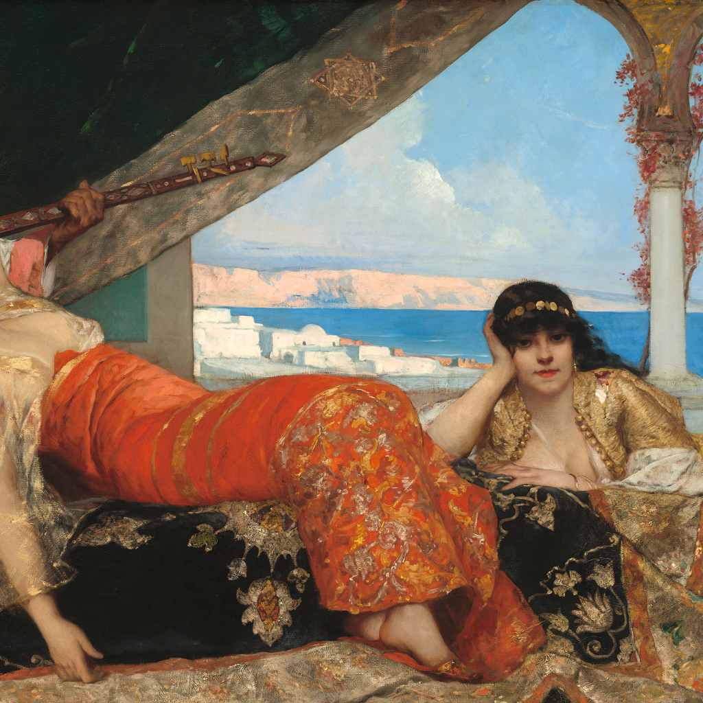 The Favorite of the Emir by Jean-Joseph Benjamin-Constant