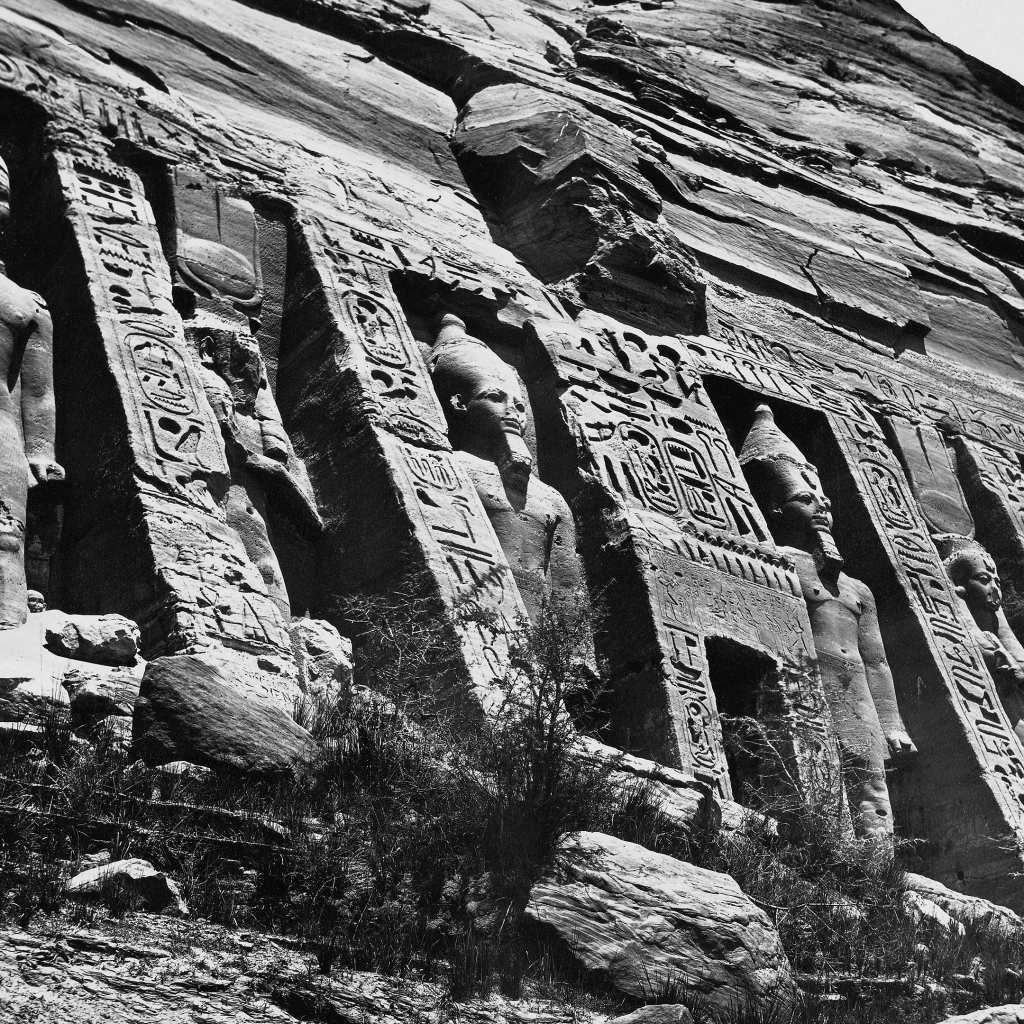 Nubia - The Small Temple at Abu Simbel by undefined