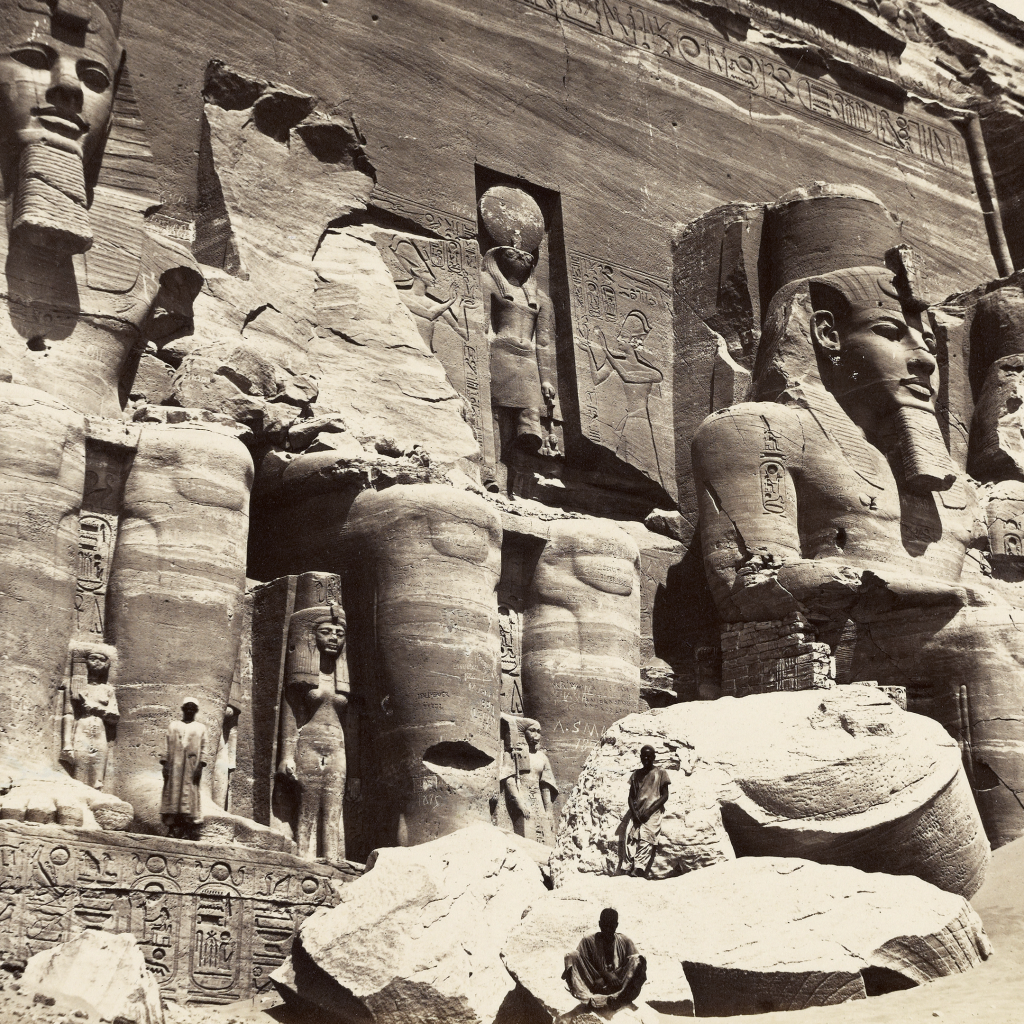 Nubia - Temple of Abu Simbel by undefined