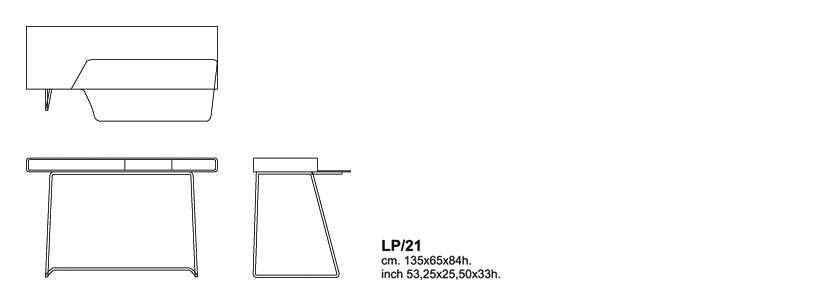 loop scrittoio cappellini dimensioni