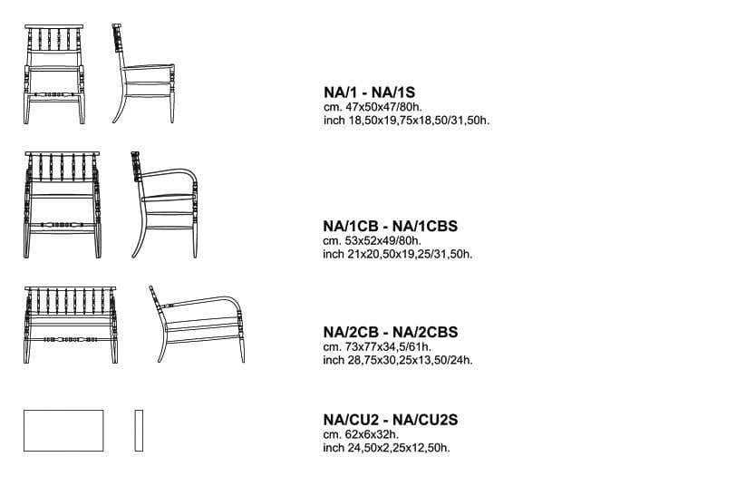 cappellini new antiques chair dimensions
