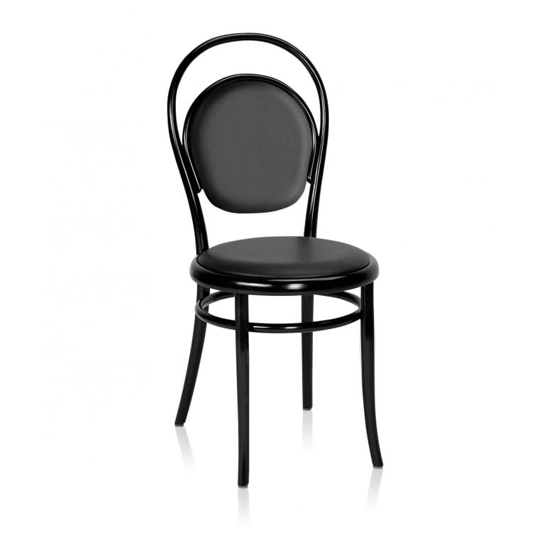 N14 Chair Upholstered seat and backrest-Chair-Gebruder Thonet Vienna-Michael Thonet
