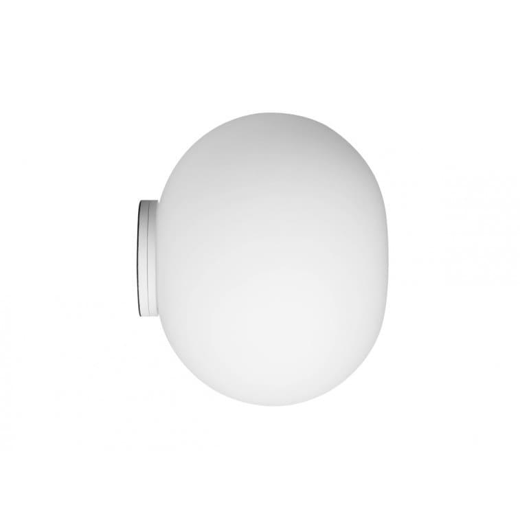 Glo-ball c/w zero-Wall Lamp-Flos-Jasper Morrison