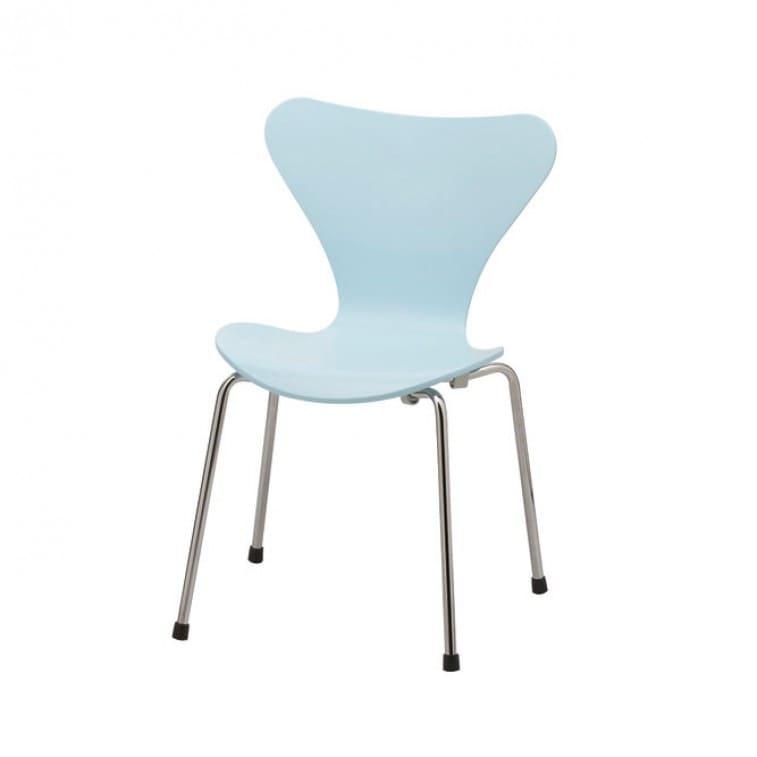 Series 7 Children's chair -3177--Chair-Fritz Hansen-Arne Jacobsen