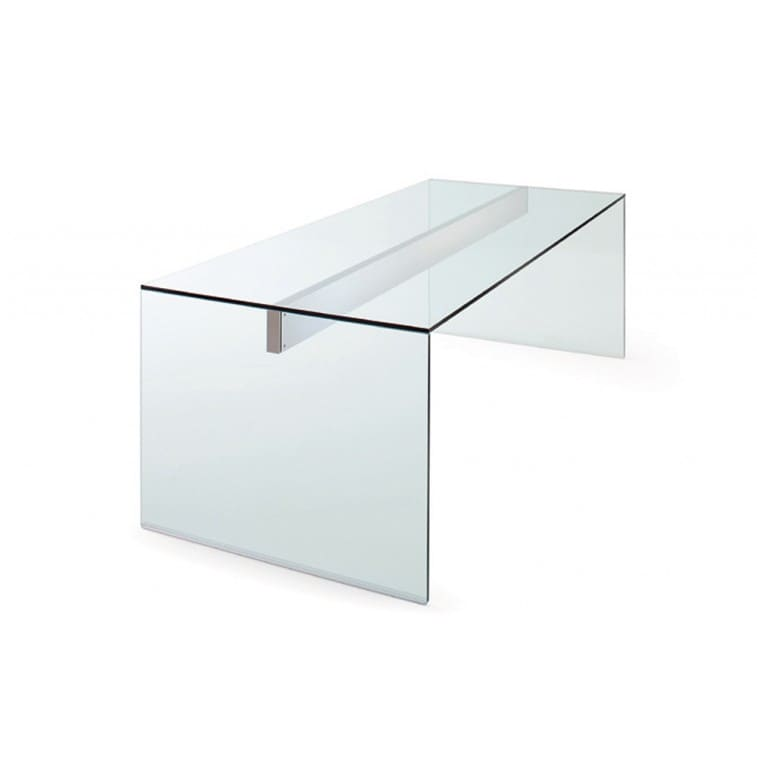 Air Desk Office Workstation Stainless Steel-Desk-Gallotti Radice-Pinuccio Borgonuovo