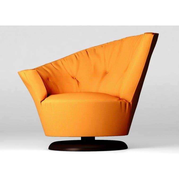 ARABELLA Swivel armchair-Armchair-Giorgetti-Cairoli & Donzelli Carlo Giorgetti Massimo Scolari