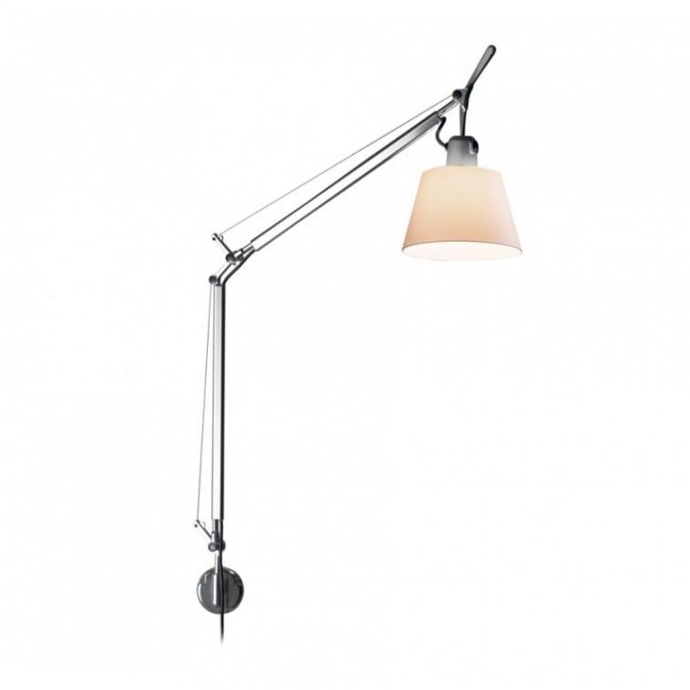 artemide tolomeo basculante wall lamp