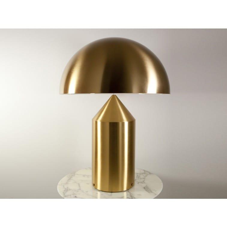 Atollo 233 Oro-Table Lamp-Oluce-Vico Magistretti
