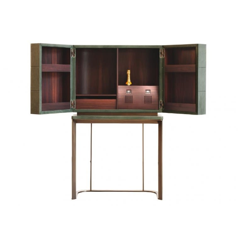 Baxter Kir Bar Cabinet Inside