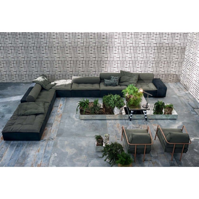 Baxter Miami Roll Sofa Modular setting