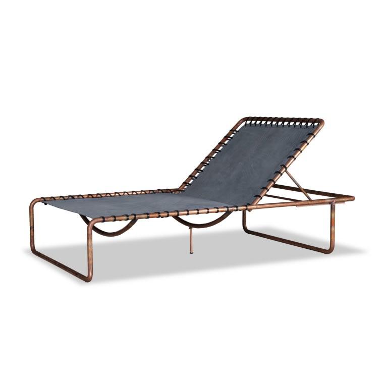 Baxter Rimini Beach Lounger with Cushion
