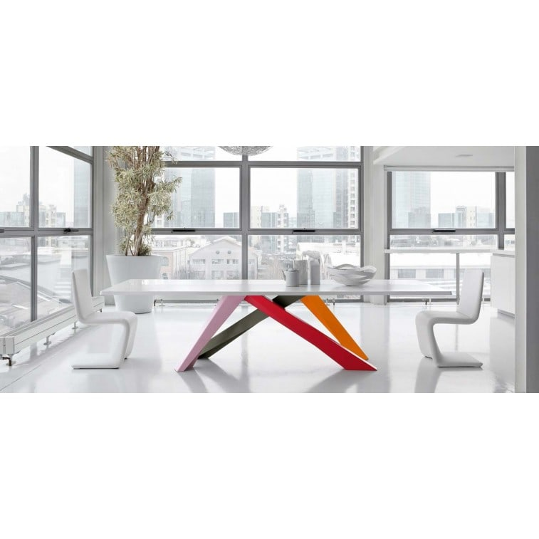 Bonaldo Big Table 220 Table | Deplain.com