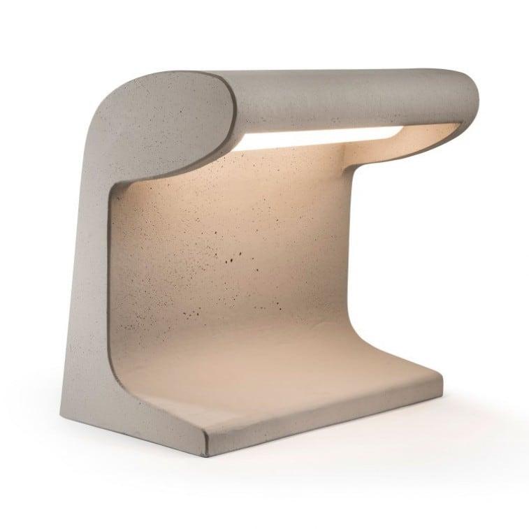 Borne Beton Grand Le Corbusier Table lamp