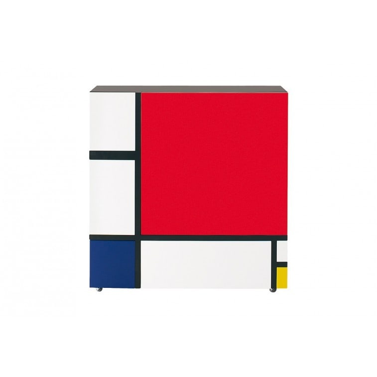 Cappellini Homage to Mondrian Cabinet Pc 18