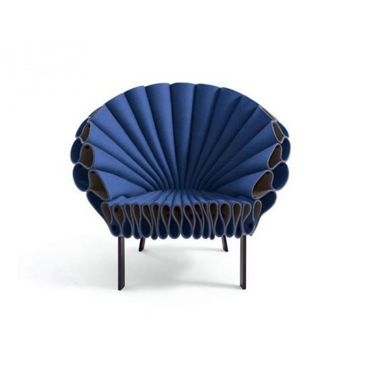 cappellini peacock armchair blue 1
