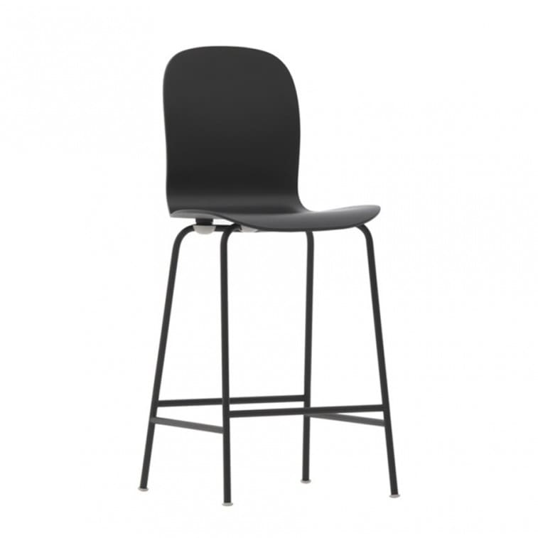 Cappellini Tate Color Stool Black