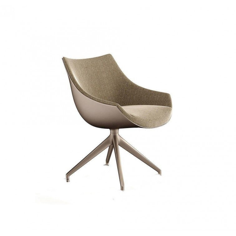 cassina 248 passion armchair 4 spokes swiveling base