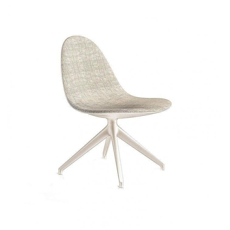 cassina 247 caprice chair 4 spokes swiveling base