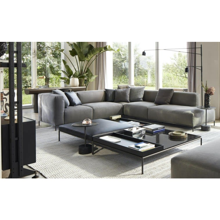 cassina mex-hi sofa velvet anthracite