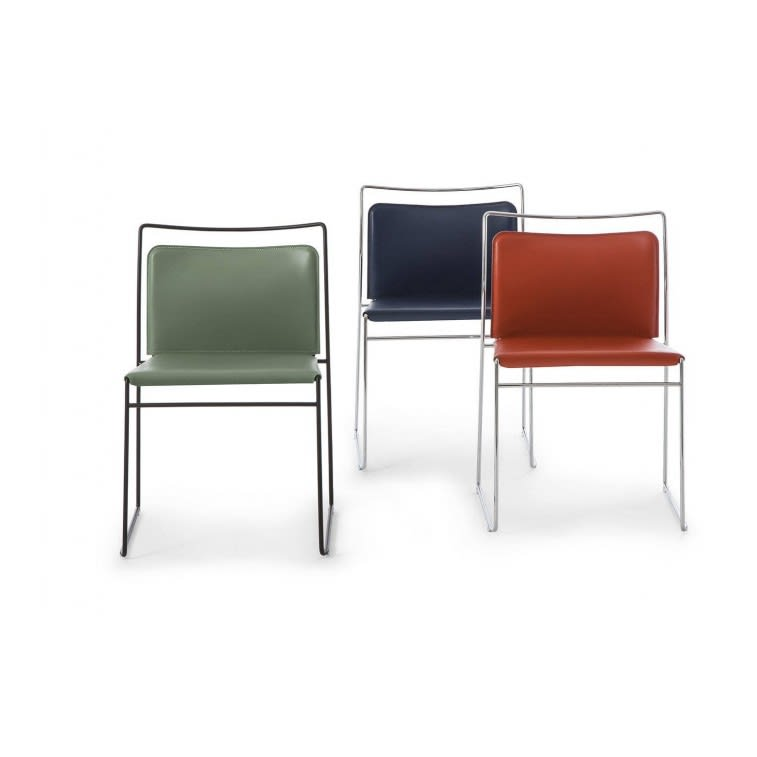 No.8 Cassina Tulu Chairs Leather