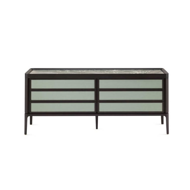 Ceccotti Full chest of drawers fabric