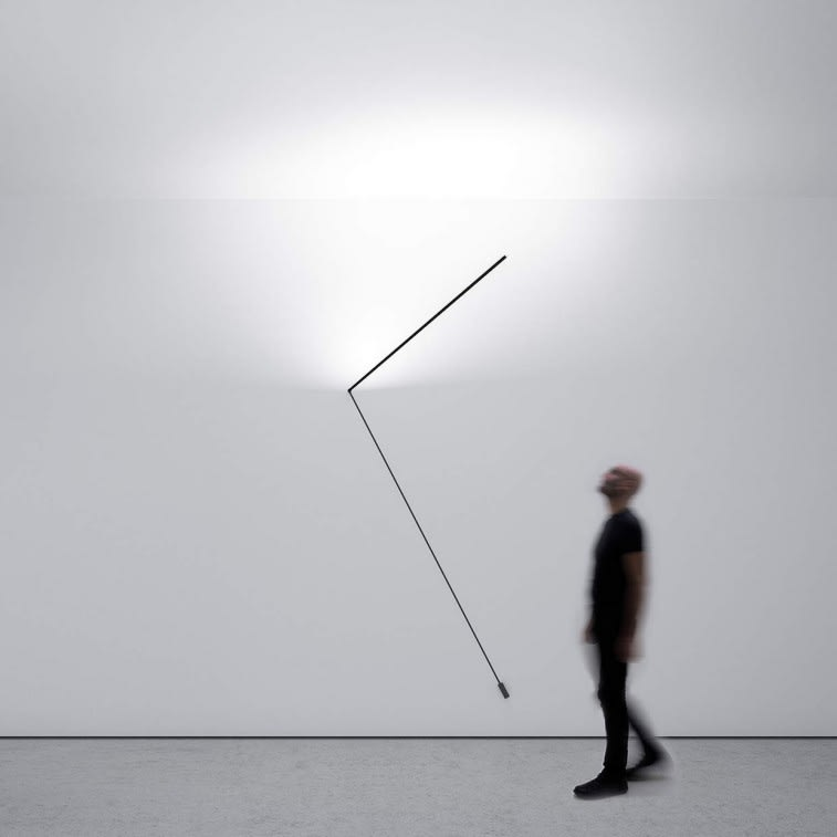 Davide Groppi Meridiana lamp