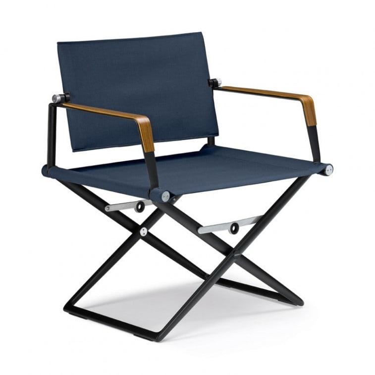 SeaX Textile Lounge Chair-Armchair-Dedon-Jean-Marie Massaud