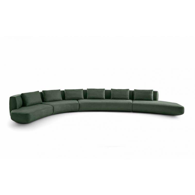 Gallotti&Radice Audrey Motion sofa velvet
