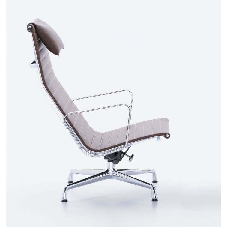Aluminium Chair Vitra EA 124-Chair-VItra-Charles & Ray Eames