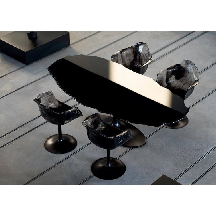 Edra Egeo table black