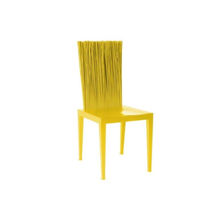 Jenette Chair by Edra Yellow