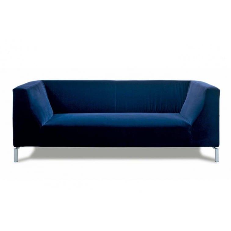 Edra Silver Sofa blue