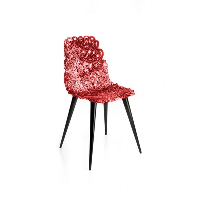 Edra Gina Chair Red