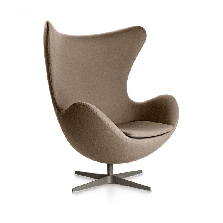 Egg Armchair-Lounge Chair-Fritz Hansen-Arne Jacobsen