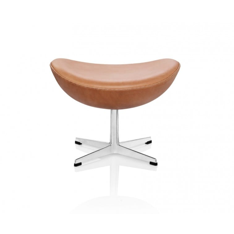 Egg Footstool-Lounge Chair-Fritz Hansen-Arne Jacobsen