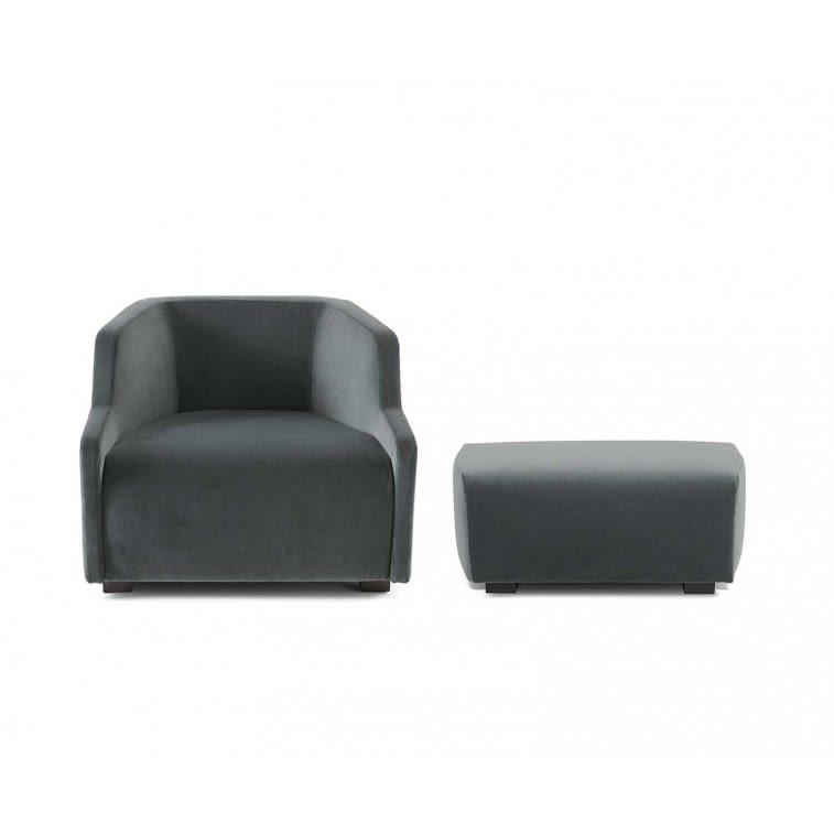 Gallotti&Radice First armchair and ottoman