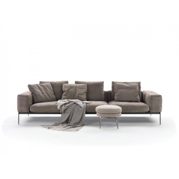 flexform lifesteel sofa by antonio citterio