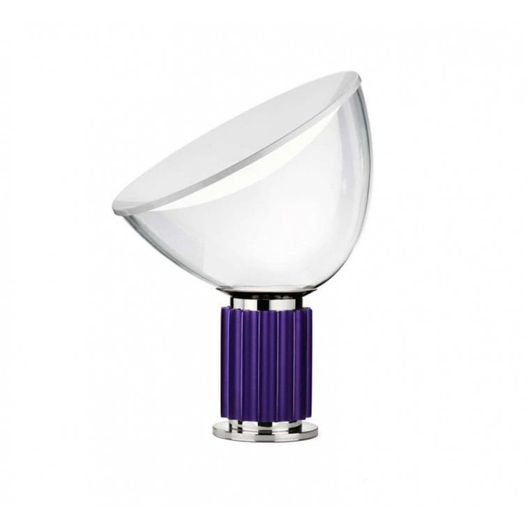 Flos taccia small table lamp flos taccia small blue violet flos taccia small led table lamp mozeypictures Gallery