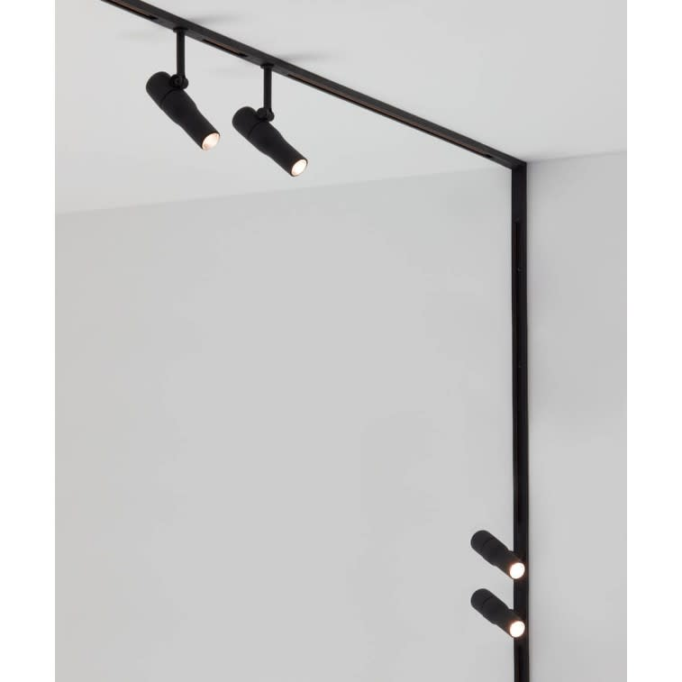flos zero track ceiling lamp system