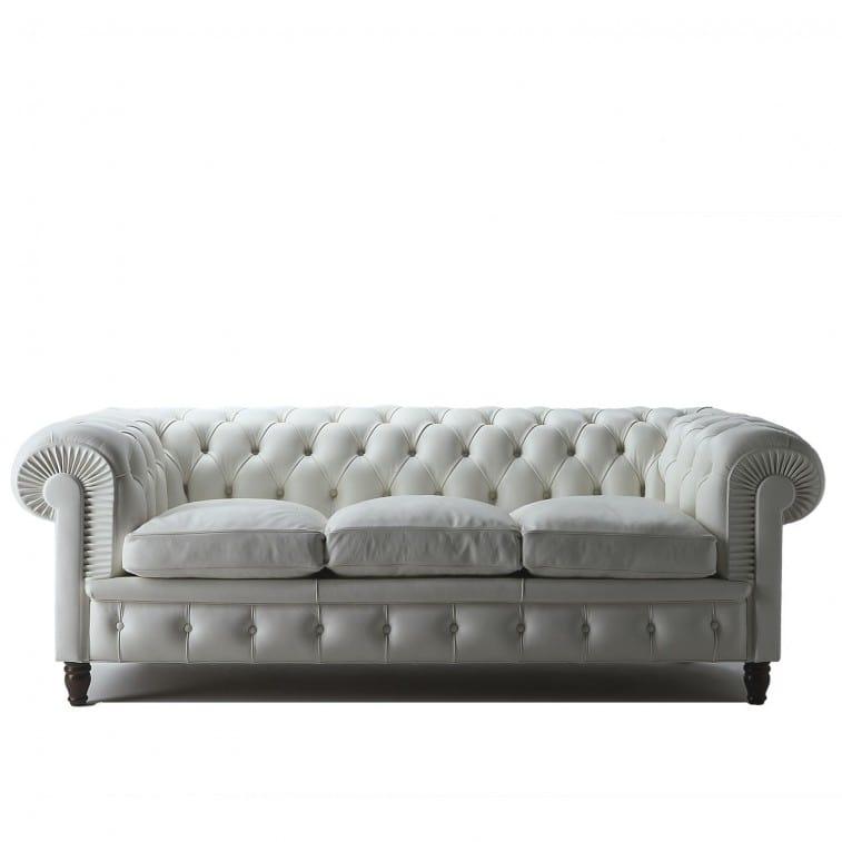 Poltrona Frau Chester 3 Seater Sofa | Deplain.com