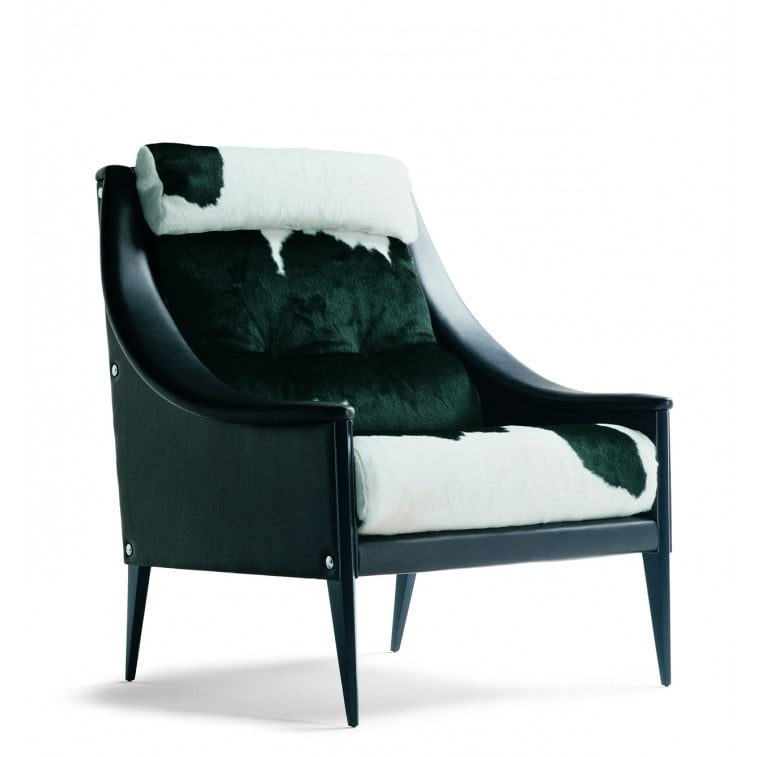 Dezza 48 Armchair-Armchair-Poltrona Frau-Gio Ponti