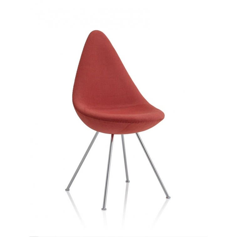 Drop Fully Upholstered Chair-Chair-Fritz Hansen-
