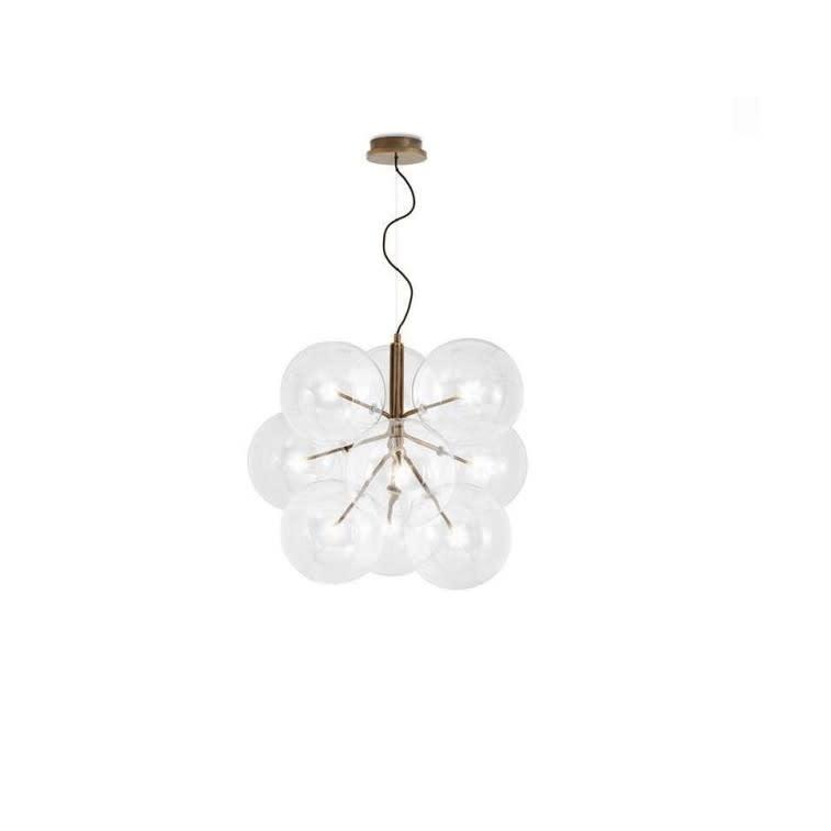 Gallotti&Radice Bolle Cielo hanging lamp 9 spheres
