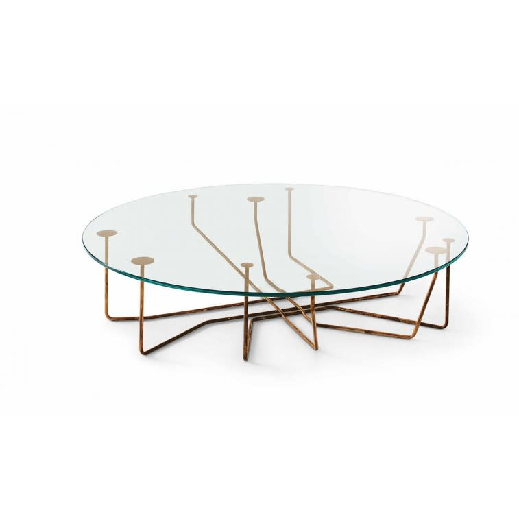 Gallotti&Radice Connection coffee table round